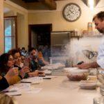 lezioni di cucina chef stellato anche a Santa Croce S/A